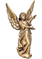 Offering Angel Wall Bronze Statues II