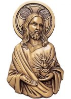 Jesus Our Healer Wall Bronze Statues