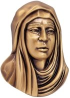 Our Lady Wall Bronze Statues