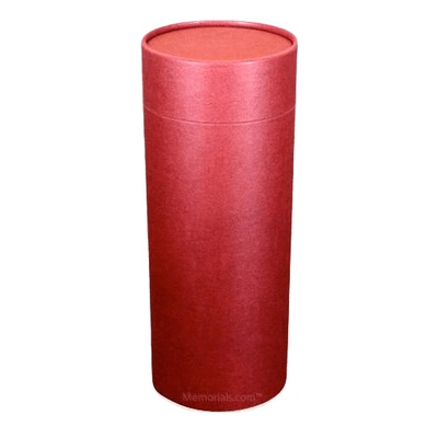 Burgundy Scattering Biodegradable Urn