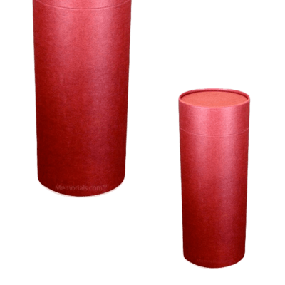 Burgundy Scattering Mini Biodegradable Urn