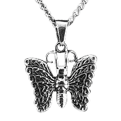 Heavenly Butterfly Cremation Pendant III