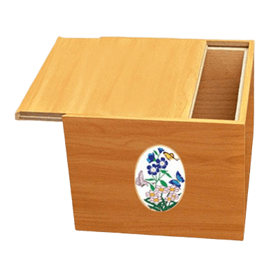 Norwegian Butterflies Cremation Urn