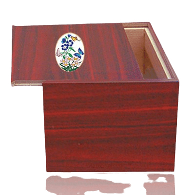 Danish Butterflies Cremation Urn