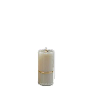 Gold Band Keepsake Candle Urn