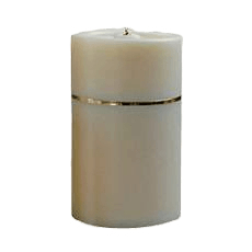 Candle Gold Keepsake Urn