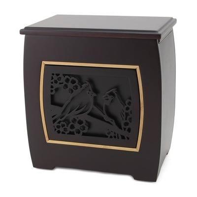 Hiroto Cardinal Cremation Urn