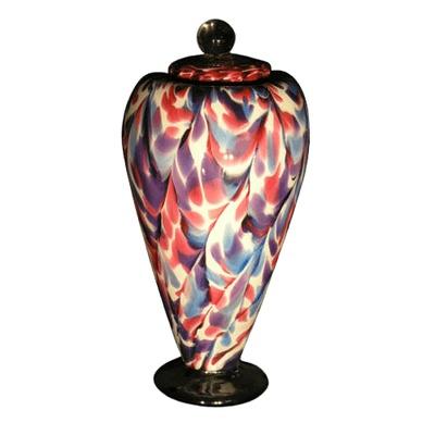 Unique Carnival Art Urn