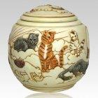 Cat Cremation Urn