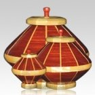 Red River Wood Cremation Urns