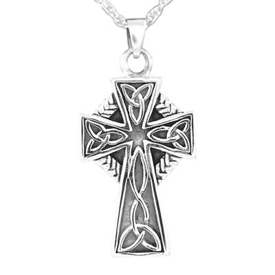 Celtic Cross Cremation Jewelry III