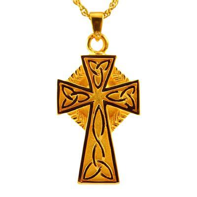 Celtic Cross Cremation Jewelry II