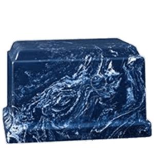 Cherish Azul Marble Cremation Urn