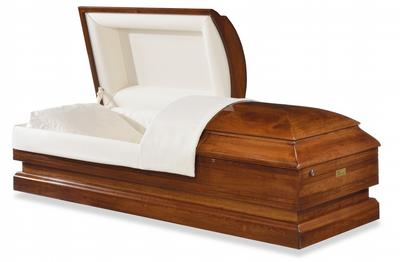 Chatham Cherry Wood Casket
