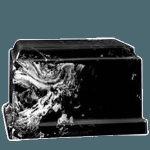 Cherish Black Marble Cremation Urn
