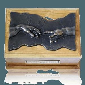 Close to God Cherry & Bronze Cremation Urn