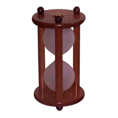 Hourglass Cherry Pet Urn