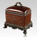 Olde World Chest Porcelain Cremation Urn