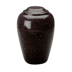 Grecian Kodiak Brown Granite Cremation Urn