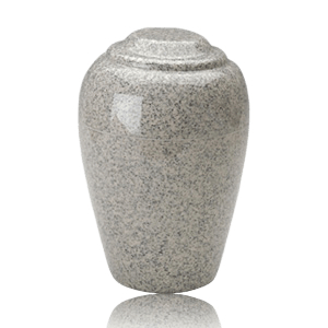 Grecian Mist Gray Granite Cremation Urn