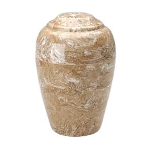 Grecian Syrocco Marble Cremation Urn