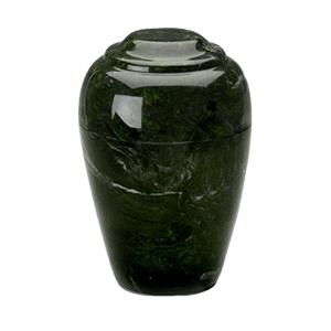 Grecian Verde Marble Cremation Urn