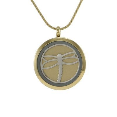Classic Dragonfly Cremation Pendant II
