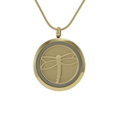 Classic Dragonfly Cremation Pendant