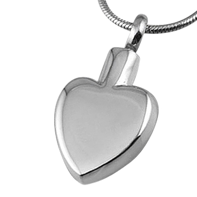Classic Heart Cremation Jewelry