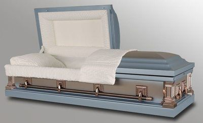 Clayton Monarch Metal Casket