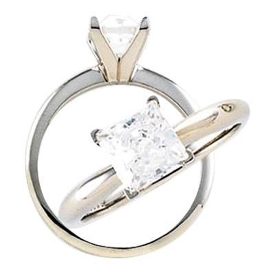 Clear Cremation Diamond II
