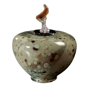 Como Grenalias Glass Cremation Urn