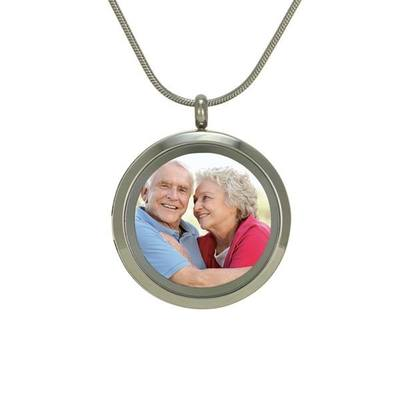 Companion Photo Cremation Pendant II