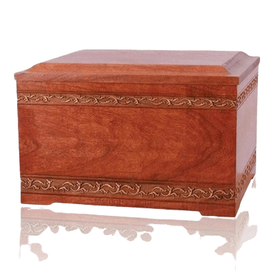 Memory Chest Wood Cremation Urn