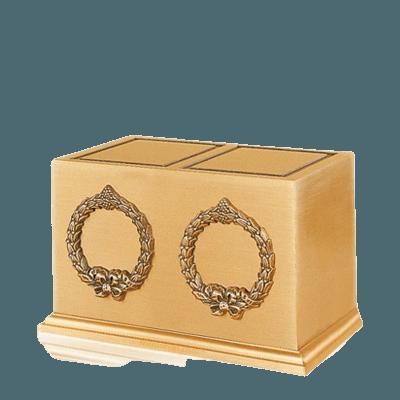 Victory Wreath Companion Cremation Urn
