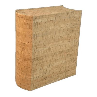 Cork Book Scattering Urn