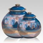 Galaxy Ceramic Cremation Urns