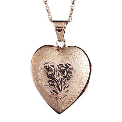 Heart Locket Cremation Keepsake II