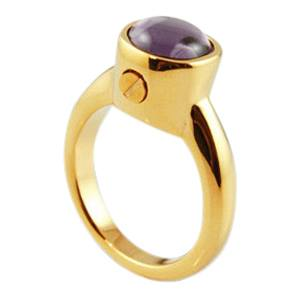 Round Cremation Ring II
