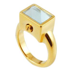 Square Cremation Ring
