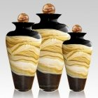 Celestial Black Cremation Urns