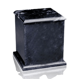 Eversquare Black Marble Urn