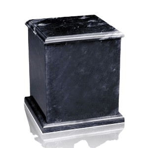 Eversquare Black Marble Urn