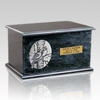 Evermore Black Marble Cremation Urns