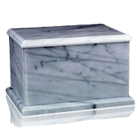 Evermore White Marble Cremation Urns