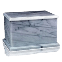 Evermore White Marble Urn
