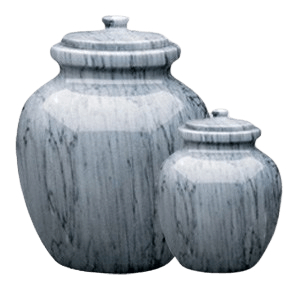 Legacy Grey Marble Cremation Urns