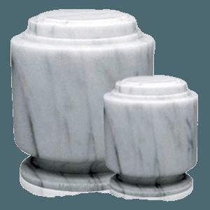 Estate White Marble Cremation Urns