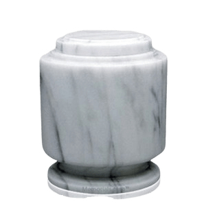 Estate White Medium Urn