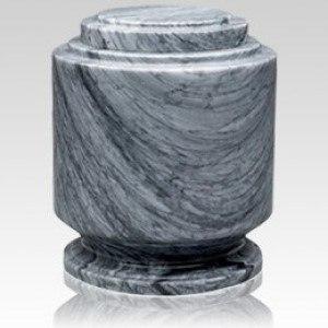 Estate Grey Marble Urn